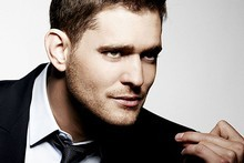 Michael Buble stars in a hilarious Christmas spoof on Saturday Night Live. Photo / Supplied