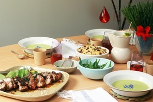 Couscous is a novel addition to the contemporary Christmas. Photo / Janna Dixon