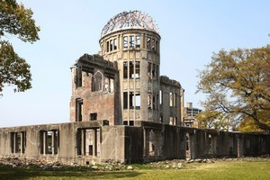 The Atomic Bomb Dome survived the explosion on August 6, 1945 but everybody inside was vaporised. Photo / Thinkstock