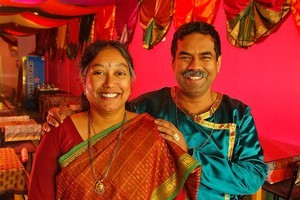 Swamy Akuthota and his wife Padmaja are offering a free Christmas dinner on December 25 at all five of their Satya restaurants. Photo / Glenn Jeffrey