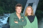 Dougal Fyfe pictured with sister Harriet, died in December after a hunting incident. Photo / Supplied