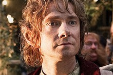 Martin Freeman as Bilbo Baggins in Peter Jackson's The Hobbit. Photo / James Fisher