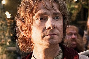 Martin Freeman as Bilbo Baggins in Peter Jackson's The Hobbit. Photo / James Fisher