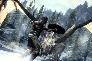 The Elder Scrolls V: Skyrim has scooped numerous awards, including game of the year at the Spike Awards. Photo / Supplied