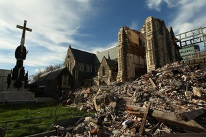 More than 16 months have passed since the first Christchurch earthquake, and aftershocks continue to rock the city. Photo / Getty Images