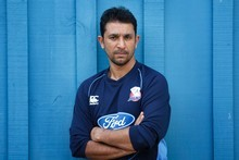 Auckland Aces import Azhar Mahmood is aiming to help Auckland retain the HRV Cup. Photo / Richard Robinson