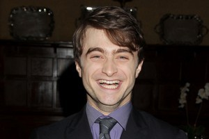 Actor Daniel Radcliffe, who portrayed the character Harry Potter in the popular film franchise. Photo / AP