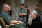 Ralph Fiennes is Caius Martius and Vanessa Redgrave is his mother Volumina in Coriolanus. Photo / AP