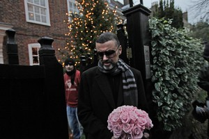 George Michael says Austria was the best place to get so ill - as the medical care he received was top rate. Photo / AP
