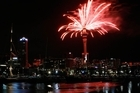Fireworks erupt from the SkyTower during a previous New Year's Eve celebration. Photo / Greg Bowker