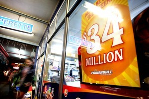 'We were too shocked to celebrate. I just had a beer and went to bed, but neither of us slept a wink.' - $8.4 million winner. Photo / NZ Herald