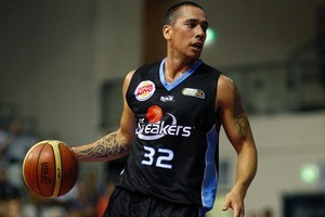 Paul Henare led the New Zealand Breakers to their first ANBL championship before retiring. Photo / Sarah Ivey