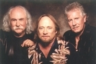 Stephen Stills (pictured centre) of Crosby, Stills and Nash. Photo / Supplied