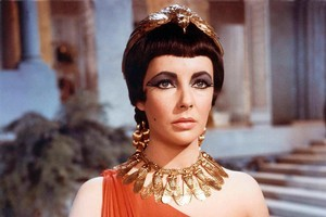 Elizabeth Taylor won fame with her portrayal of Cleopatra, who used asses' milk to stay youthful. Photo / Supplied