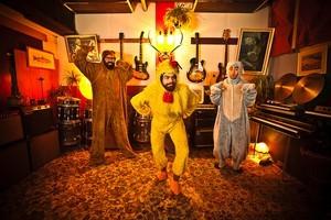 Wellington band, The Nudge. Photo / Supplied