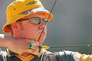 Australian archer Ryan Tyack. Photo / Getty Images
