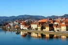 Maribor's old riverside trading district of Lent is still home to a number of medieval buildings that were spared the worst of the allied bombing. Photo / Creative Commons image by Andrej Jakobcic