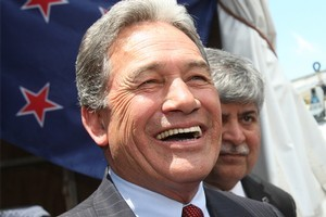 Winston Peters' improbable resurrection makes him the politician of 2011. Photo / APN