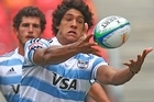 Argentina will play their home matches in next year's inaugural Rugby Championship at Mendoza, La Plata and Rosario. Photo / Getty Images