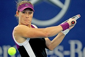 Top seed Samantha Stosur begins her Australian Open build-up with a first-round match against Belarussian Anastasiya Yakimova. Photo / Getty Images
