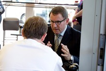 John Banks and John Key. Photo / Dean Purcell
