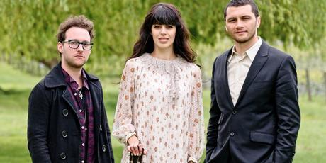 Midnight Youth's Jeremy Redmore, Opshop's Jason Kerrison and Brooke Fraser gear up for this summer's Winery Tour. Photo / NZ Herald