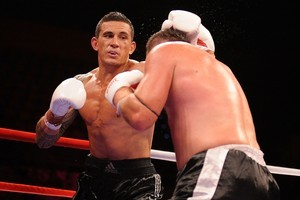 Sonny Bill Williams took control of his fight against Scott Lewis from the third round. Photo / Getty Images