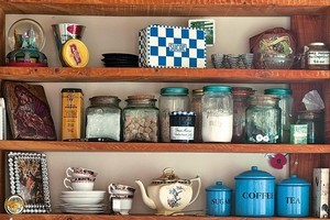 Megan Peterken used French-style furnishiing and retro appliances to create character for her cottage. Photo / Your Home & Garden