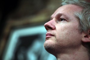 The leaked documents contain potentially embarrassing details about Julian Assange and his sex life. Photo / AP
