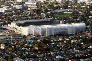 Aerial shots of Eden Park. Photo / Bradley Ambrose