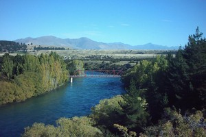 The Clutha River. Photo / Rotorua Daily Post