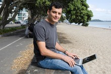 Derek Handley, a New Zealand tech entrepreneur, specialising in Mobile Technology. Photo / Paul Estcourt
