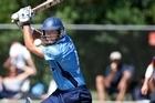 Auckland batsman Tim McIntosh. Photo / Brett Phibbs