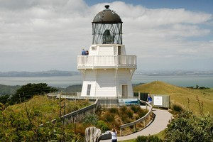 Awhitu Peninsula's lighthouse. Photo / Greg Bowker