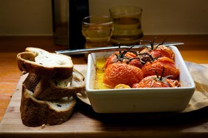 A Mediterranean diet has been highlighted as noe of the reasons Italian women are staying slim. Photo / Babiche Martens