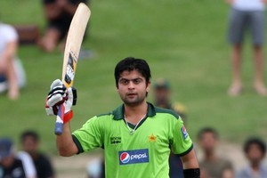 Ahmed Shehzad of Pakistan. Photo / Getty Images