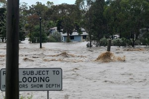 Queensland floods have been cited by Tourism Holdings as one of the reasons it will miss its profit target.  Photo / The Chronicle