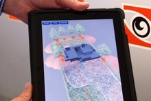 NextSpace has an iPad application for its 3D visualisation technology. Photo / Supplied
