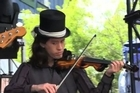 An Emerald City perform at Laneway. Photo / NZ Herald