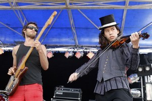 An Emerald City's performance at Laneway was a festival highlight. Photo / NZ Herald