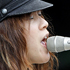 Blonde Redhead performs at Laneway Festival in Auckland's Aotea Square. Photo / Richard Robinson