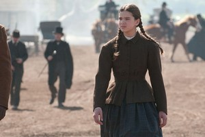 Hailee Steinfeld is shown in a scene from, 'True Grit.' Photo / Supplied