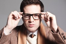 Mayer Hawthorne is a multi-instrumentalist and also raps under the name Haircut, but it's his 60s style soul that he'll be performing at Splore-City this weekend. Photo / Supplied