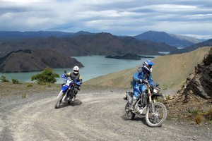Breathtaking scenery and gruelling climbs are all part of a Yamaha bike adventure in the South Island. Photo / John Nicholson