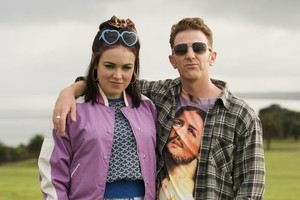 Emily Barclay features in the new film Love Birds with Wesley Dowdell. Photo / Supplied