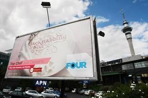 The Parnell billboard. Photo / Steven McNicholl