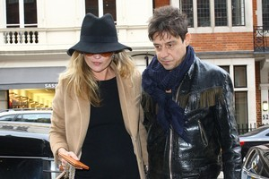Kate Moss and Jamie Hince. Photo /Getty Images