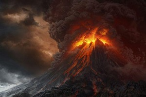 Mt Ngauruhoe was Mt Doom in the 'Lord of the Rings' movies. Photo / Supplied