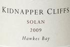 Kidnapper Cliffs Solan 2009 $35. Photo / Brett Phibbs