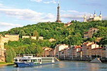 Cruising the Rhone provides an opportunity to see France's wine country from a hedonistic perspective. Photo / AP